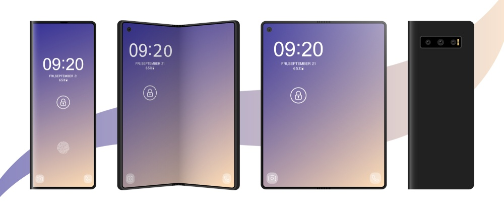 Foldable Mobile Phone Display