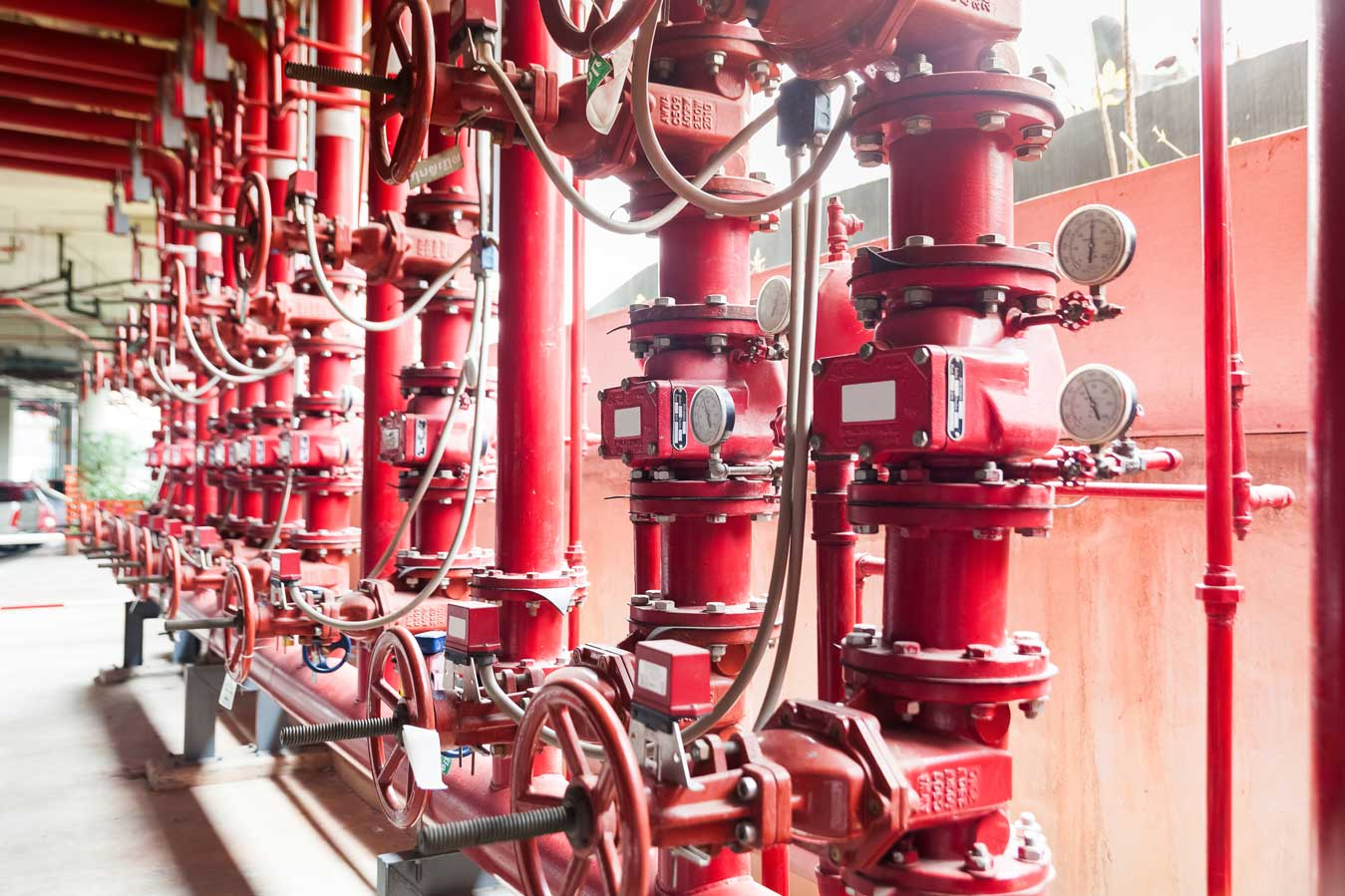 Why fire protection system is important in a building?